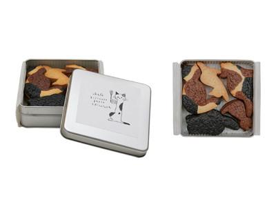 ニャンとも言えない可愛さ(ハート) トータルビューティーカンパニーukaの運営するukafeから「ukafe三毛猫クッキー」発売開始。