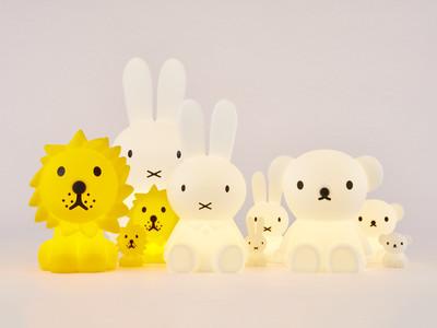 ミッフィーのインテリア照明 Mr MariaのOriginalサイズに人気キャラクター「lion」と「boris」が仲間入り! パッケージの装いも新たに『Star Light』シリーズとして発売開始