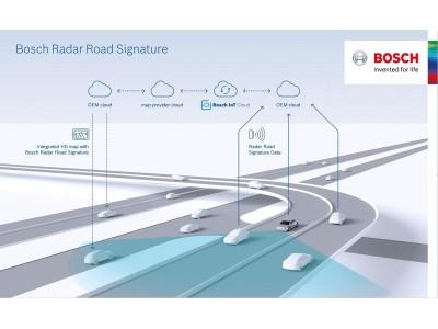 世界初:ボッシュがレーダー情報を使用した自動運転用マップを開発