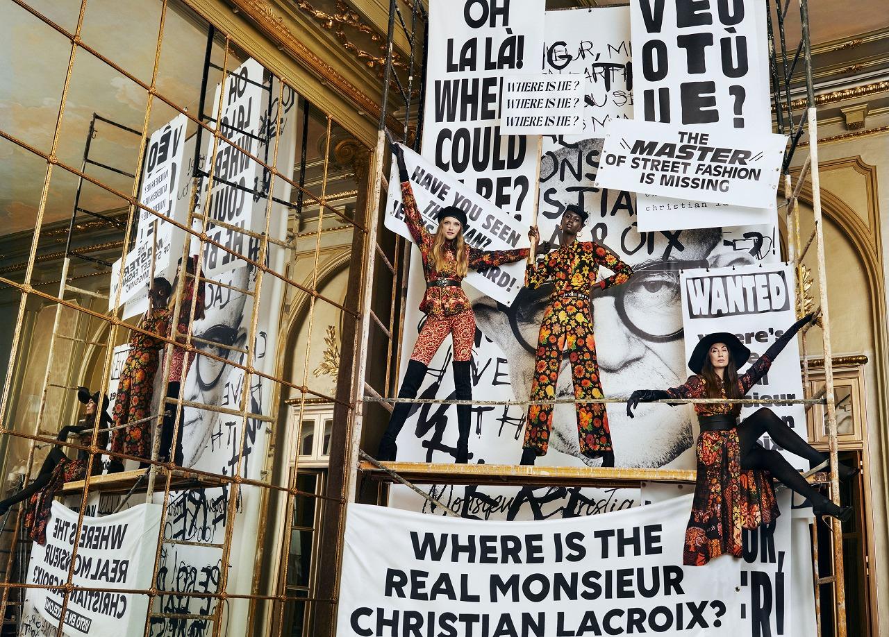 フランスの巨匠、ムッシュ・クリスチャン・ラクロワとのコラボレーションカプセル新作秋冬コレクションが2020年9月21日(月)より発売!