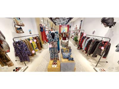 デシグアル 東京 銀座中央通り店がバーチャル上に出現!Desigual Virtual Store GINZAを期間限定オープン!
