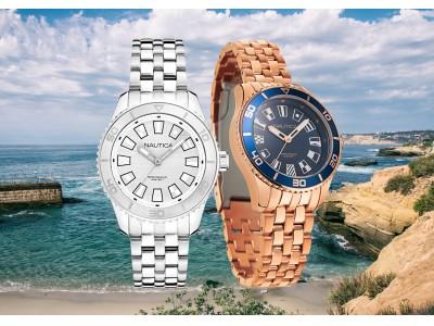 マリンスタイルウォッチブランドNAUTICA(ノーティカ)が新作レディース時計を発表