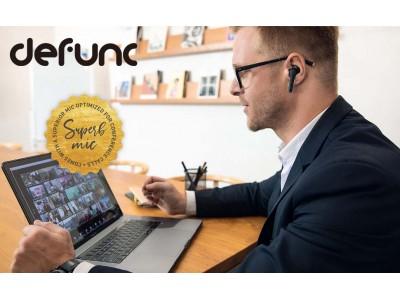 【新商品】北欧ブランド「defunc」から、シリコン素材で装着感にこだわる『TRUEGO SLIM』、デュアルマイクで通話品質を高める『TRUE PLUS』、2種類の完全ワイヤレスイヤホンを同時発売!
