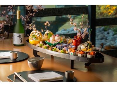 【ザ・キャピトルホテル 東急】桜をモチーフにしたメニューのご案内