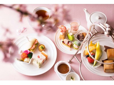 満開の桜スイーツで華やぐ午後のひととき「桜 アフタヌーンティー」が登場/横浜ベイホテル東急