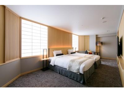 【金沢東急ホテル】コンセプトは「加賀をくつろぐ」2タイプのプレミアムツインを2020年4月1日から販売開始