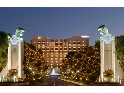 【ホテルオークラ東京ベイ】約100,000球のウィンターイルミネーション「Bayside Celebration」点灯
