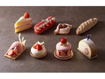 【ホテルオークラ東京】「Classic & New Delights ―Fraise―」~苺の風味と甘さを生かし誕生した新作5種のケーキ&2種のパン~