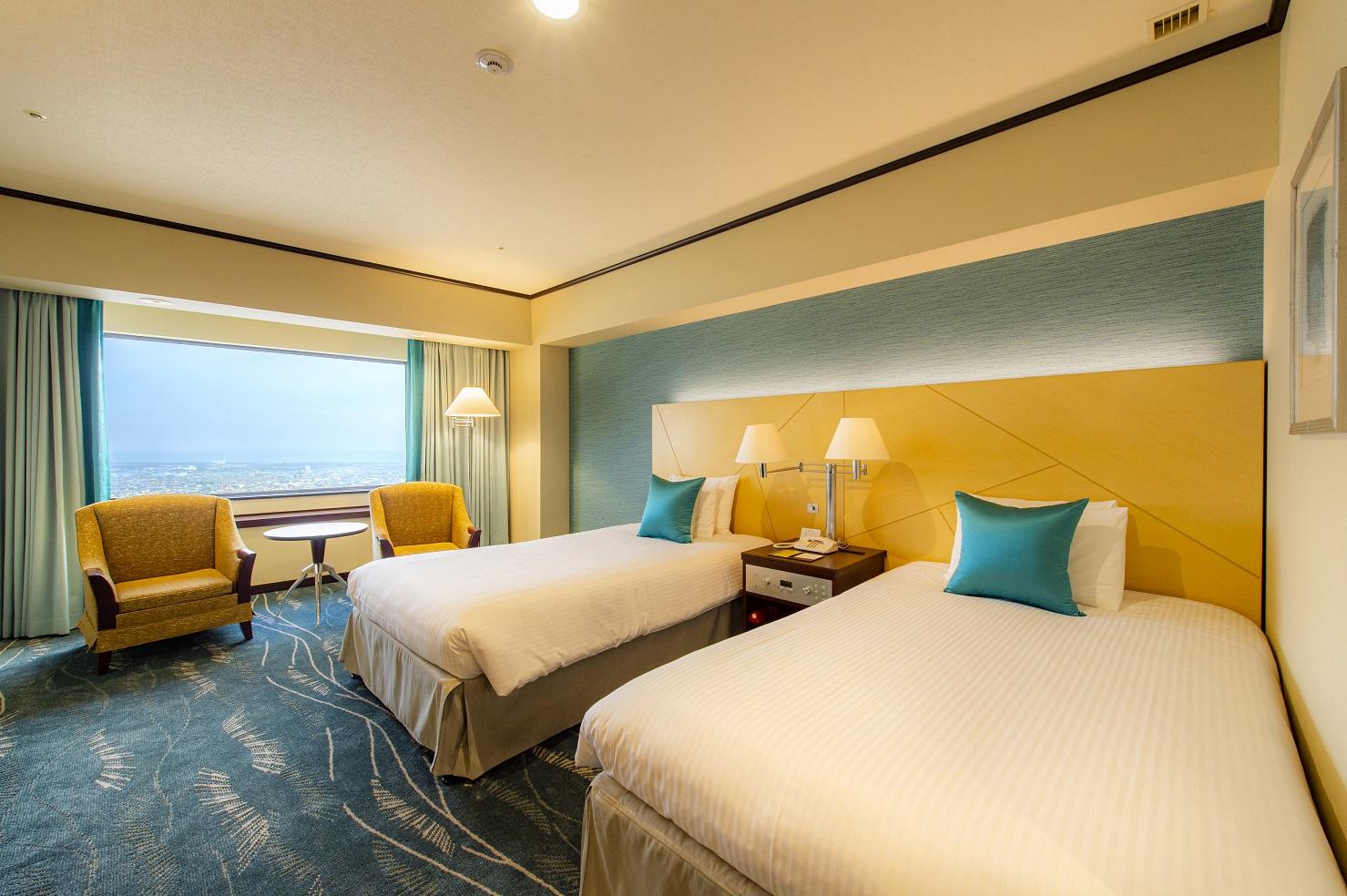 【オークラアクトシティホテル浜松】超高層フロア43階・44階の客室を改装『アッパープレミアムコンフォートフロア』誕生