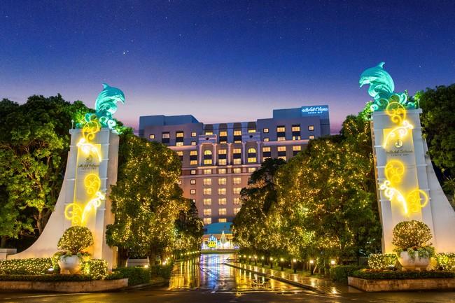【ホテルオークラ東京ベイ】ウィンターイルミネーション「Bayside Special Party」を点灯