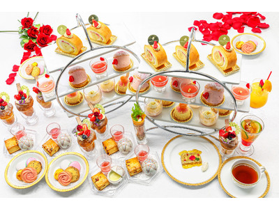 【ホテルオークラ東京ベイ】 「Saison des roses ~セゾン・デ・ローズ~」バラが美しく咲く季節に新商品の華やかな春のスイーツを期間限定で販売
