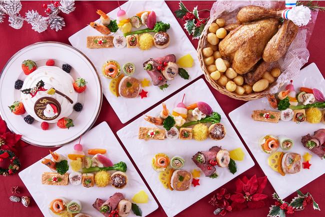 【ホテルオークラ東京ベイ】ご自宅のテーブルを華やかに彩るクリスマスケーキ&デリカテッセン&パーティーセットのご案内