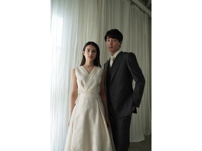文化を纏うブランド「renacnatta(レナクナッタ)」が伝統工芸西陣織でつくるウェディングドレス IIをリリース。コンセプトは「一生着られる」。