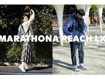 80年代のレトロランニングシューズに最新機能を搭載「MARATHONA REARCH」