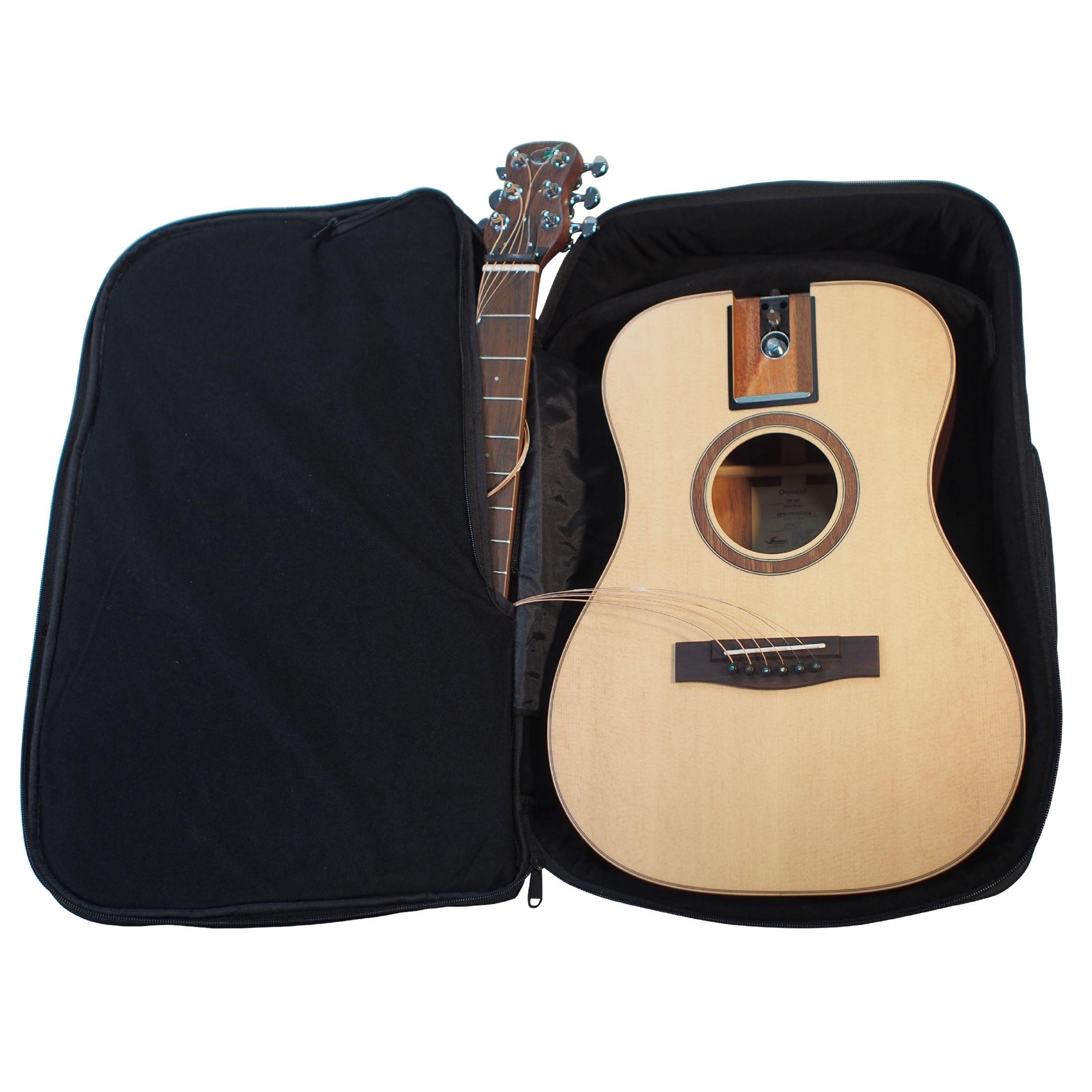 バックパックで持ち運べるジャーニー・トラベルバッグギターにワイドボディの新シリーズ登場!