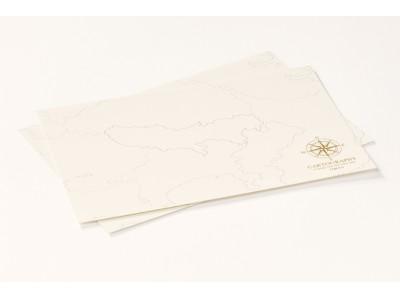 【新製品】大人のための白地図『カルトグラフィー』限定デザイン「トーキョー」