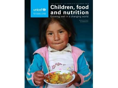 ユニセフ「世界子供白書2019」~子どもの健康を脅かす 栄養に乏しい食生活【プレスリリース】
