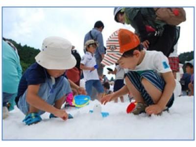 「猛暑」を吹き飛ばせ!六甲山 真夏の雪まつり「宝さがしゲーム」 ~大暑の7/23(日)はスーパー・クールバージョンで開催!~