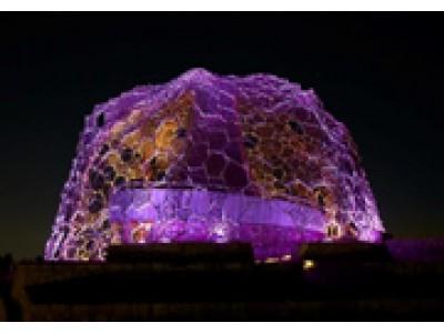 六甲山光のアート『Lightscape in Rokko』 年間ライトアップスケジュール決定! 春バージョン「春はあけぼの」 3月10日(土)から開催