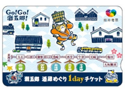 ~日本一の酒どころ「灘五郷」を巡ろう!~ 「灘五郷 酒蔵めぐり1dayチケット」を発売します!!