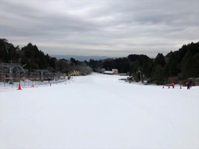 お待たせしました! 六甲山スノーパーク 第2ゲレンデオープン! ~1月12日(土)から全面滑走可に~