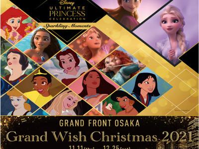 Grand Wish Christmas 2021Disney Ultimate Princess Celebration ~Sparkling Moments~