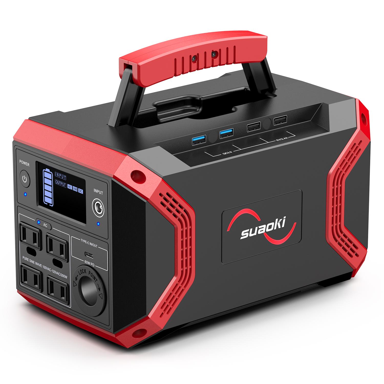 【SUAOKI】大容量ポータブル電源新製品「S370」発売~市場初USB Type-C出入力両方対応... 画像