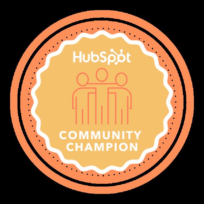 株式会社100代表の田村が、日本初のHubSpot Community Championに認定