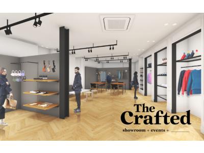 """""""モノづくりD2C""""ブランドが集結!withコロナ時代におけるリアル店舗の新しい可能性を探求する「The Crafted」が1年間限定で銀座にオープン!"""