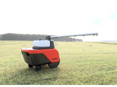 農業Weekで、銀座農園と共同開発した農業用無人車両を、展示・受注開始