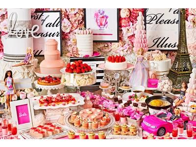 ご好評により第三弾!Barbieコラボレーションビュッフェを開催!『ストロベリーホリック~Barbie in Paris~ 』