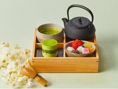 """京都宇治抹茶を点てて味わう""""プチ茶道体験""""を表参道で!『和のティーセット』が新登場"""