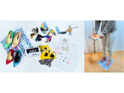 """""""おうちで簡単3D計測""""働く女性を応援するフルオーダーパンプスをお届け!感動パンプスAYAME4月19日(月)よりサービス開始"""