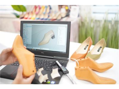ロボットヲタクのパンプス社長!業界に風穴を! 時代は『誰でも靴屋』 靴の設計図となる3D木型の法人向けサービスを6月19日に開始