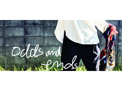 ヴィンテージスカーフなどの端切れを活用したSDGsファッションブランド「odds and ends」、4月1日ローンチ!端切れたちが、世界でひとつだけのプロダクトに。