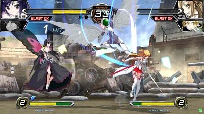 2D対戦格闘ゲーム『電撃文庫 FIG...