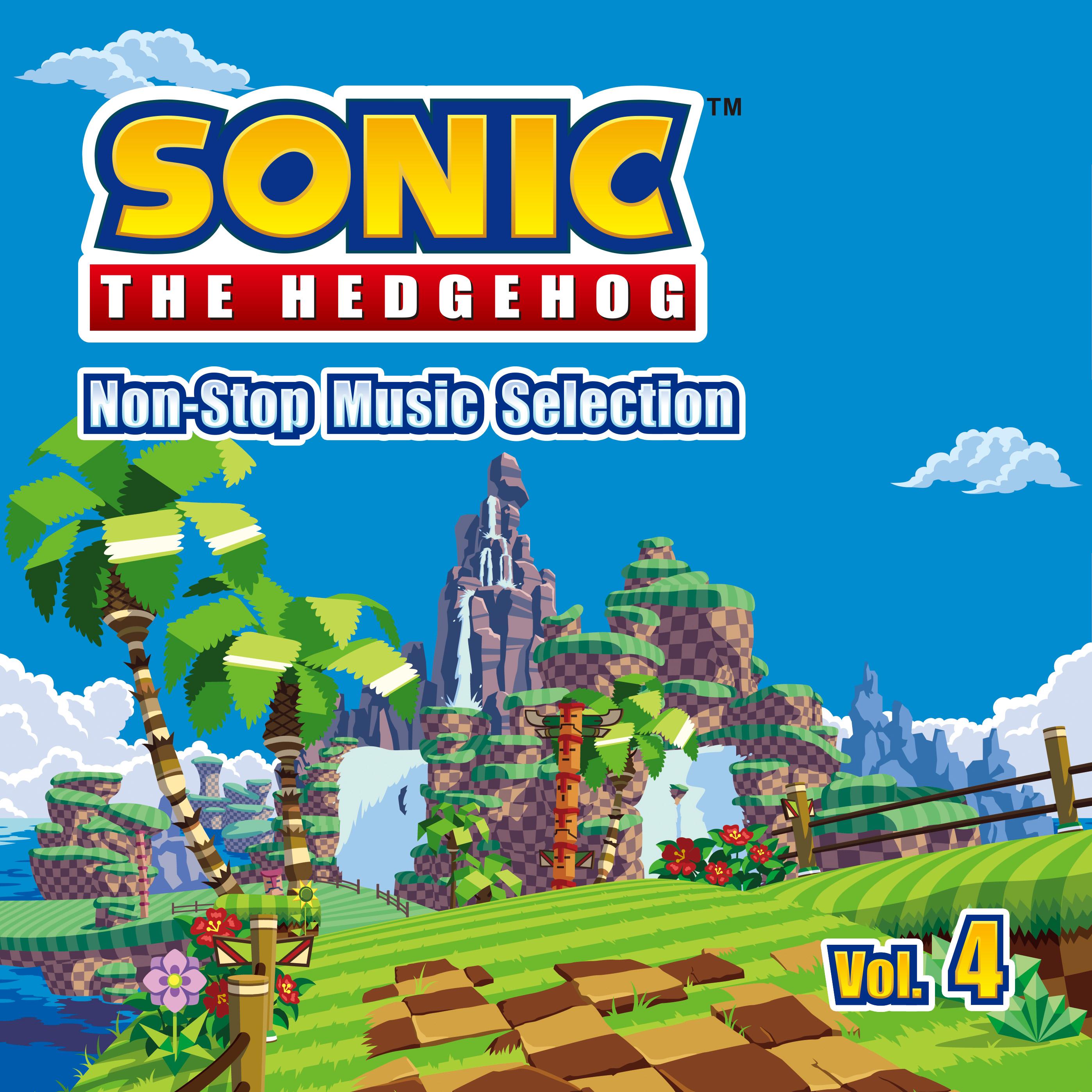 「SONIC2020」プロジェクト「ソニック」シリーズのコンピレーションアルバム『Sonic The Hedgehog Non-Stop Music Selection Vol.4』配信開始!