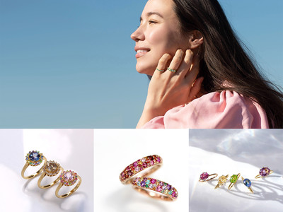 国内最多級の天然カラーストーンを扱う「BIZOUX(ビズー)」、光によって色が変わる宝石など、春の新作コレクション21商品を発売