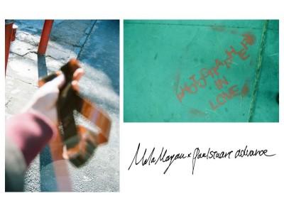 (株)メンズ・ビギの「Paul Stuart advance」、新進気鋭の写真家Mala Morgan とコラボレーションアイテム第二弾をリリース。アートキュレーションを米原康正が監修。