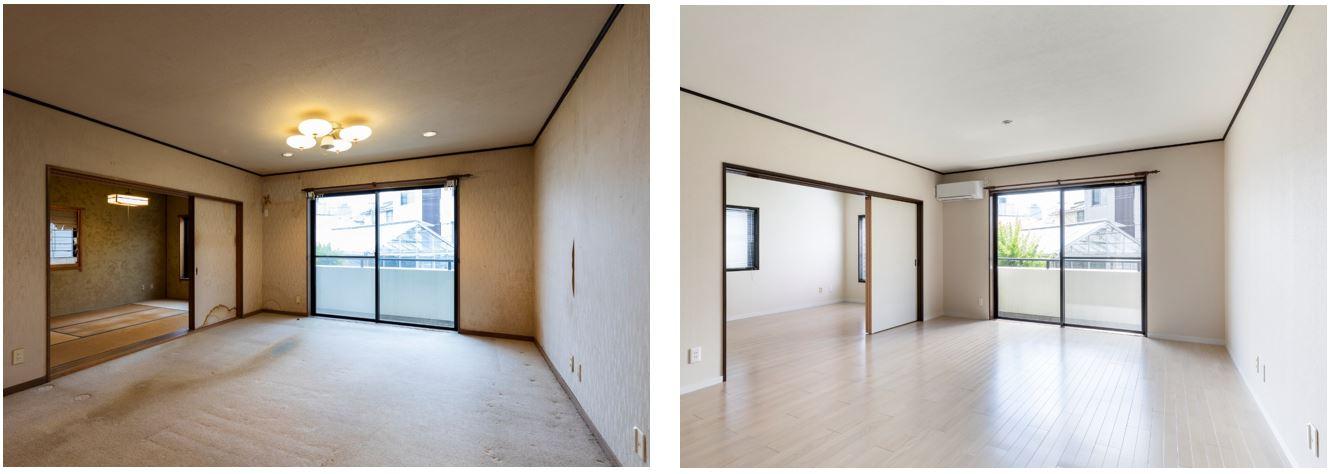 【リフォーム完成】戸建て住宅のワンフロアを有効活用!