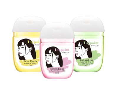 人気YouTuberゆんが監修した、3つの香りのハンドジェルアルコール配合潤いハンドジェル『Liypaint』(リペイント) 販売個数10,000個を開始24時間で達成