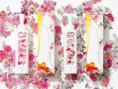 夏肌に嬉しいスキンケア機能と、エレガントで華やかな限定パッケージと香り。HACCIクレンジングミルクに、2021年夏の限定版が2種登場