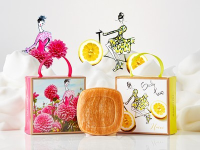 イタリアの人気ファッションイラストレーターとのコラボレーションパッケージが登場。HACCIはちみつ洗顔石けん、初夏の瑞々しさが届くパッケージ2種を限定発売