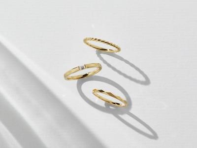 ブライダルリング専門店「アイプリモ」 特別な日の贈り物に「新作アニバーサリージュエリー ファッションリング3型が登場」