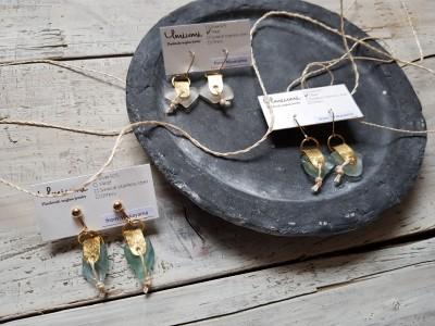 アパレルブランドのサスティナブルな取組み。漂流物を使って耳飾りを作るワークショップを開催!
