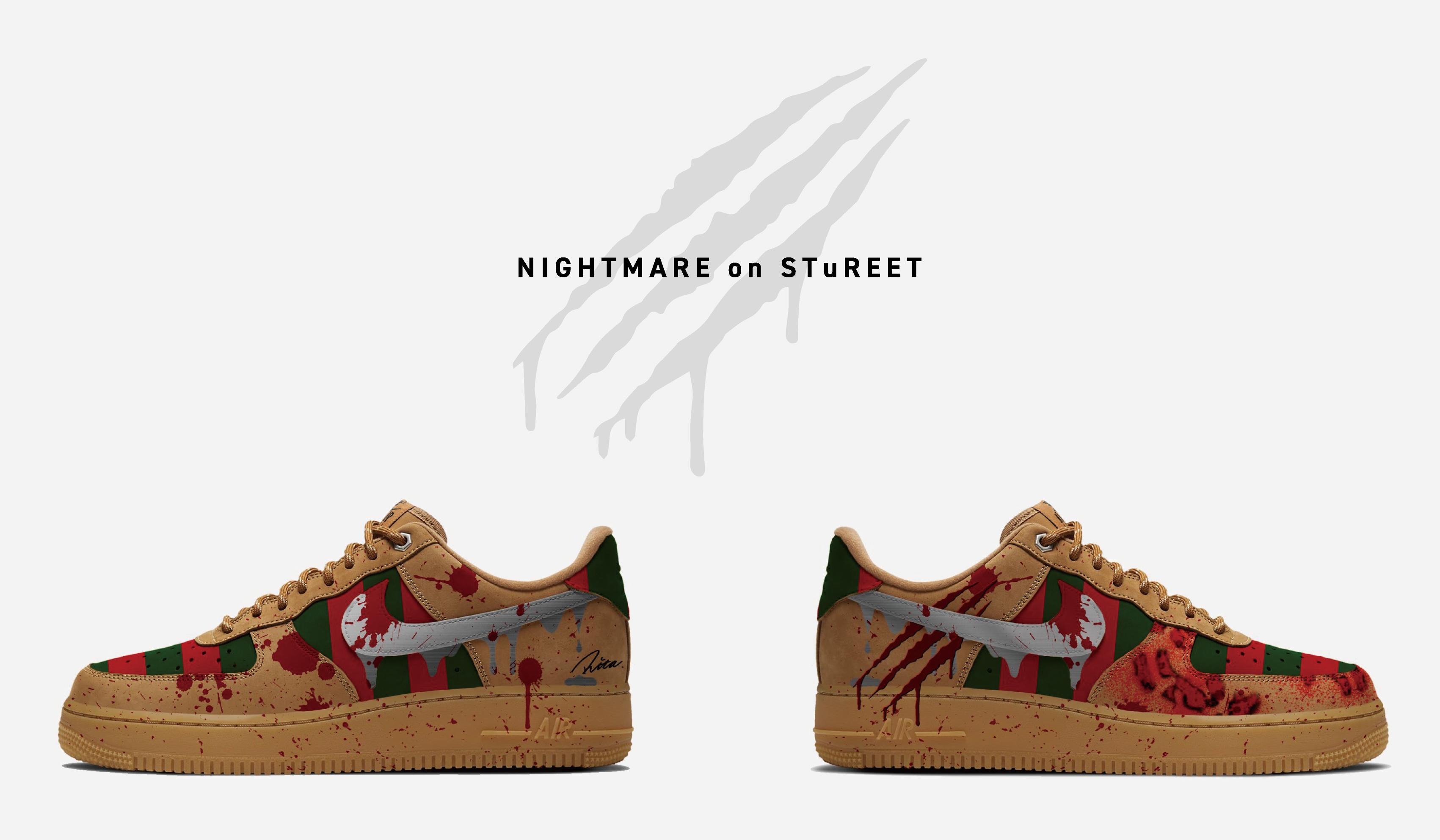 STuREET(スチュリート)から、「エルム街の悪夢」をモチーフとした、ハロウィン限定モデル「NIGHTMARE on STuREET」が発売。