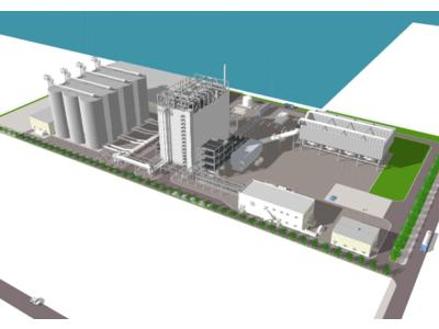 御前崎港バイオマス発電所の建設工事に着手