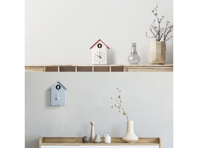 和紙が奏でるやさしい音色 シンプルでかわいいサイズの「ふいごカッコー時計」発売