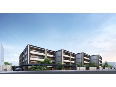 渋谷区上原3丁目アドレス 第一種低層住居専用地域に地上4階 総戸数65戸の新築分譲マンション「リーフィアレジデンス上原」竣工