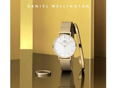 DANIEL WELLINGTON(ダニエル ウェリントン)2020年春夏新作「Petite Evergold」「Iconic Link 40mm」5月20日(水)より発売開始
